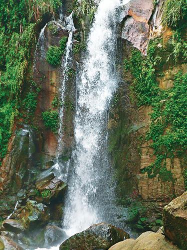 風情照片-銀穗瀑布。