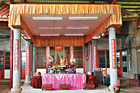 風情照片-雲谷寺是百年古剎。