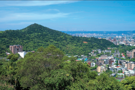 風情照片-劍潭山。圖/張志湧