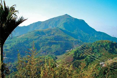 風情照片-從樟湖山晀望雲嘉大尖山。圖/賴育民
