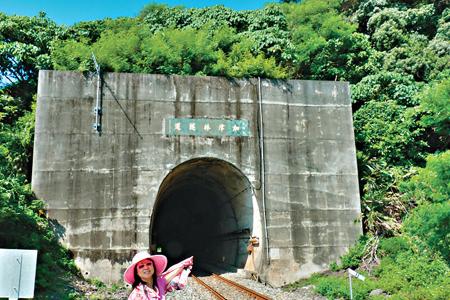 風情照片-北迴線的加津林隧道。