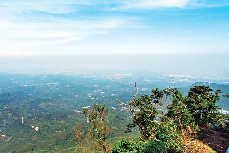 風情照片-天氣好時可見台灣海峽。圖/吳明霖