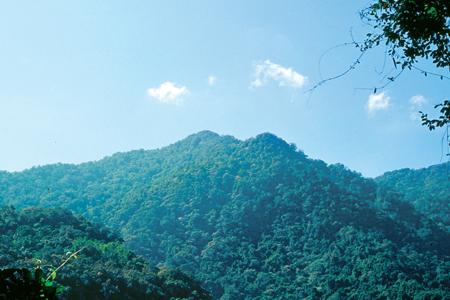 風情照片-扇平觀景台眺鳴海山。圖/黃魏慶