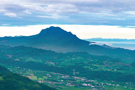 風情照片-都蘭山山景。圖/崔祖錫